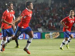 """Erstes Tor für die """"Rojos"""""""