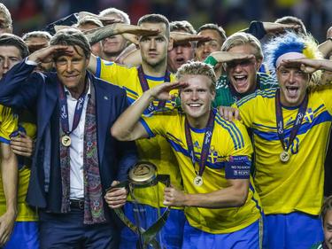 Suecia sucede a España, ganadora de las dos últimas Eurocopas Sub-21. (Foto: Getty)