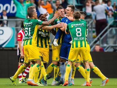 Martin Hansen empató de tacón en el último minuto ante el PSV. (Foto: ProShots)