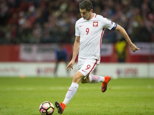 Lewandowski befreite Polen mit seinem Treffer