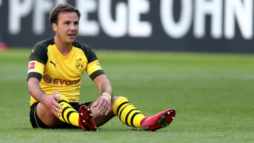 Mario Götze will sich unter Lucien Favre verbessern