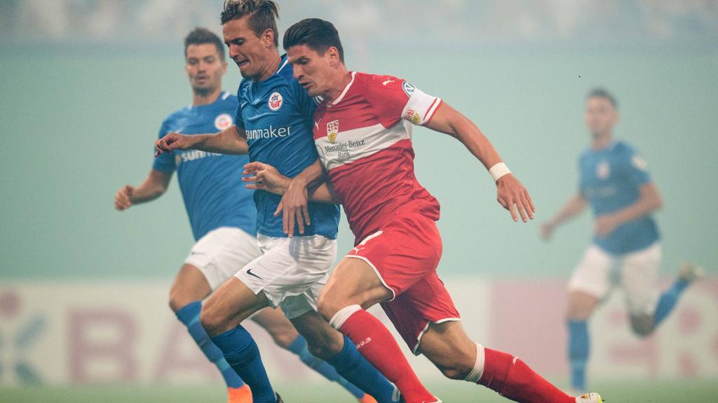 VfB Stuttgart verliert im DFB-Pokal bei Hansa Rostock