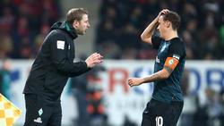 Florian Kohfeldt ist optimistisch, dass Max Kruse in Bremen verlängert