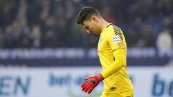 Werders Torwart Jiri Pavlenka fehlte bei der ersten Trainingseinheit