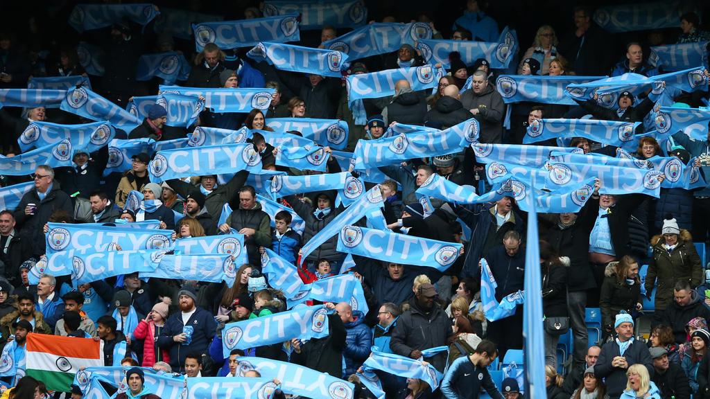 Ein Fan von Manchester City schwebt in Lebensgefahr