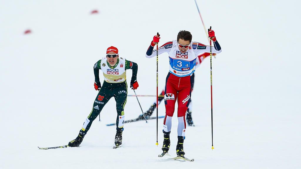 Vinzenz Geiger schielt war bester Deutscher in Schonach