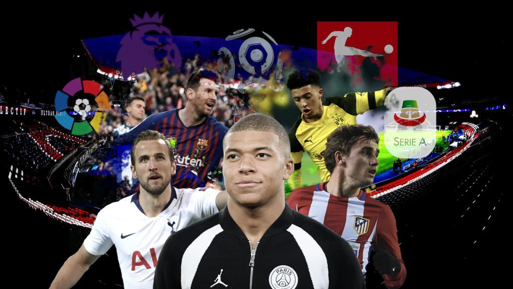 Wer sind die teuersten Spieler der europäischen Topklubs?