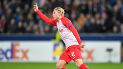 Xaver Schlager vor Wechsel von Red Bull Salzburg nach Gladbach?