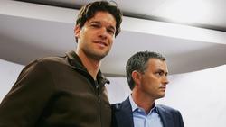 Michael Ballack und José Mourinho arbeiteten beim FC Chelsea zusammen