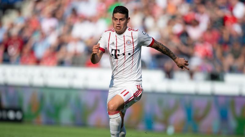 Bayern München besitzt eine Option James Rodríguez für 42 Millionen Euro fest zu verpflichten
