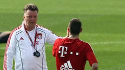 Louis van Gaal und Franck Ribéry - das passte nicht wirklich zusammen