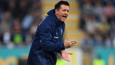 Ex-HSV-Coach Christian Titz will in Essen etwas aufbauen