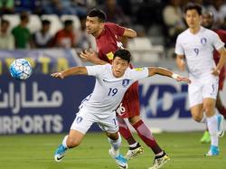 Salzburgs He-Chan Hwang konnte die Niederlage nicht abwenden