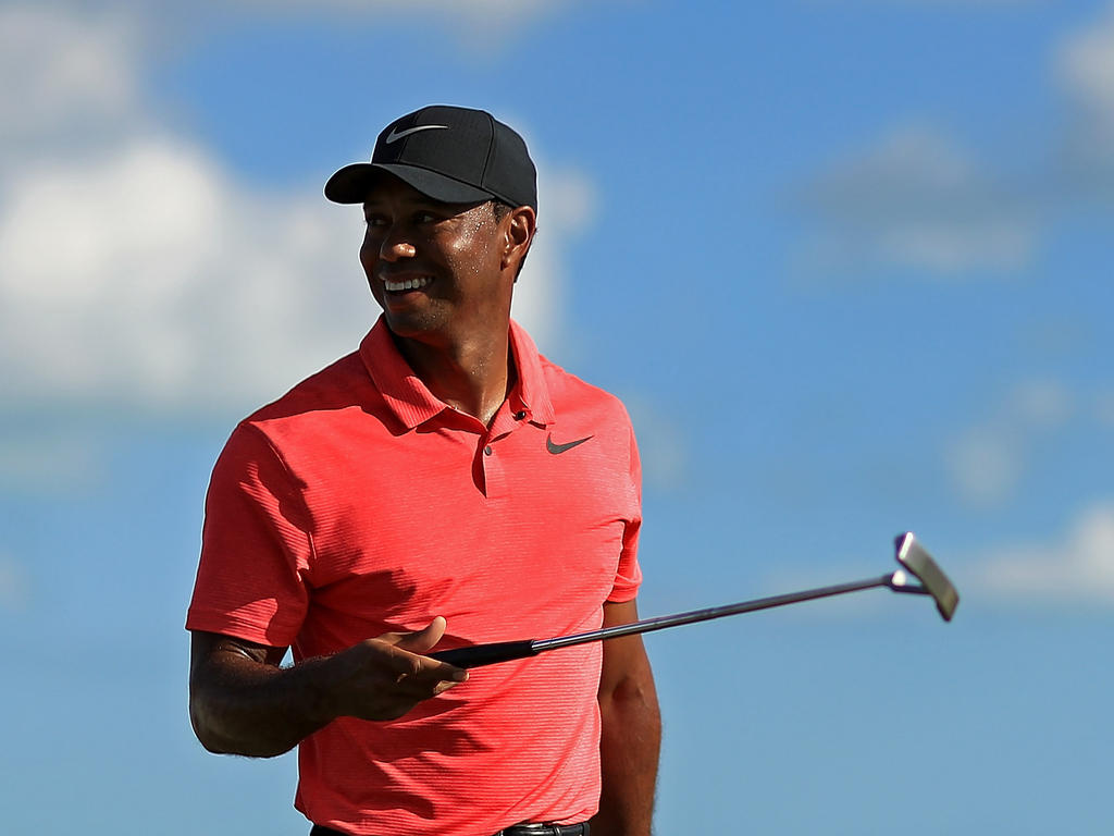 Tiger Woods gab sein Comeback auf den Bahamas