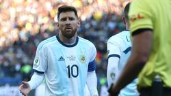 Messi se perderá los próximos encuentros con Argentina.