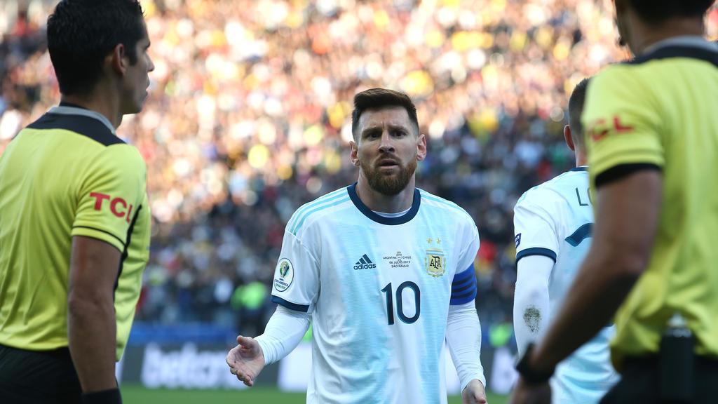 Messi muss gegen Deutschland zuschauen