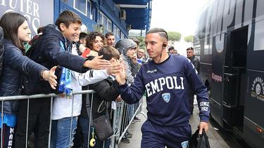 Bennacer con el Empoli en la pasada temporada.