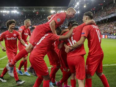 Die Salzburger feierten ein beeindruckendes Fußballfest