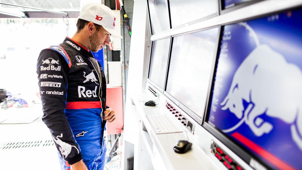 Pierre Gasly ist vom E-Sport und Sim-Racing angetan