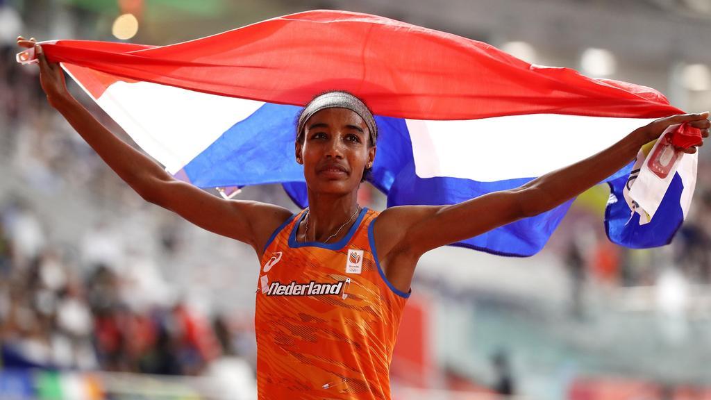 Sifan Hassan feierte ihren zweiten WM-Titel in Doha