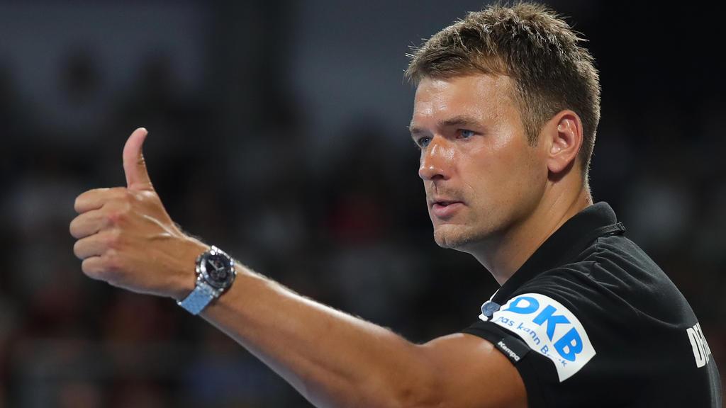 Ist mit Deutschlands Handballern in zwei Testspielen gefordert:Christian Prokop