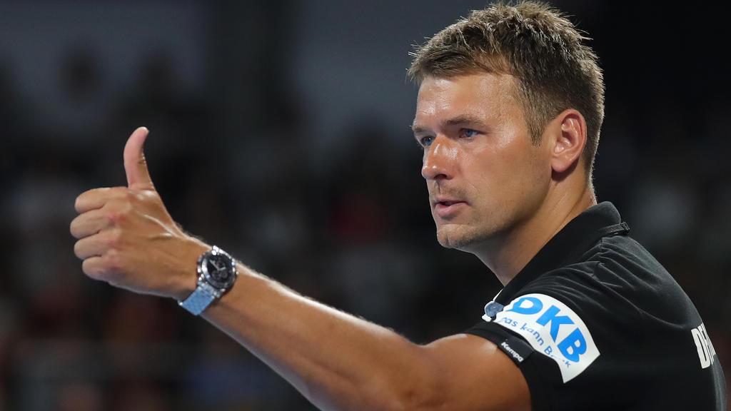 Christian Prokop steht mit der DHB-Truppe vor der Europameisterschaft