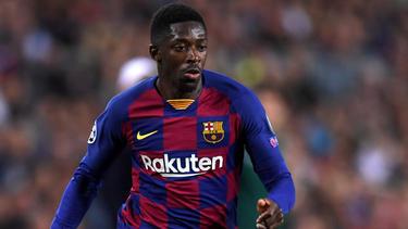 Beim FC Barcelona nicht glücklich: Ousmane Dembélé