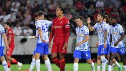 Hertha BSC hat Englands Top-Klub FC Liverpool besiegt