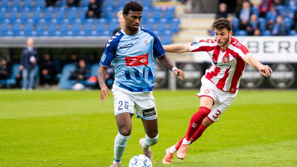 Haji Wright (l.) lief einst für den FC Schalke auf