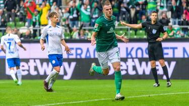Matchwinner für Werder: Marvin Ducksch