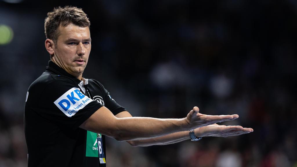 DHB-Bundestrainer Christian Prokop bleibt zuversichtlich