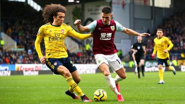 Der FC Arsenal schaffte gegen Burnley nur ein 0:0