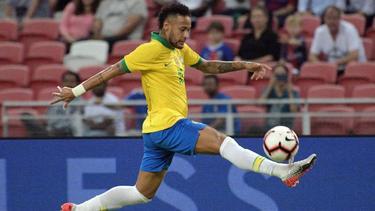 Neymar ist für die Selecao am Start