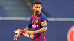 Bleibt zähneknirschend in Barcelona: Lionel Messi