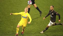 Der VfL Osnabrück gewinnt beim FC St. Pauli
