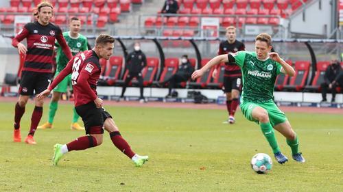 Nürnberg unterlag im Derby mit 2:3