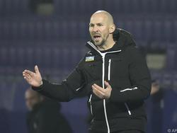 Sturm-Trainer Christian Ilzer kann mit dem Punkt gut leben