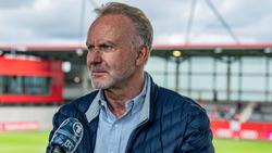 Der frühere Bayern-Boss Rummenigge wurde von Helen Breit attackiert