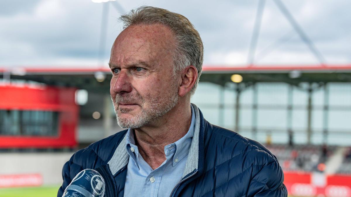Karl-Heinz Rummenigge gibt die Geschäfte beim FC Bayern ab