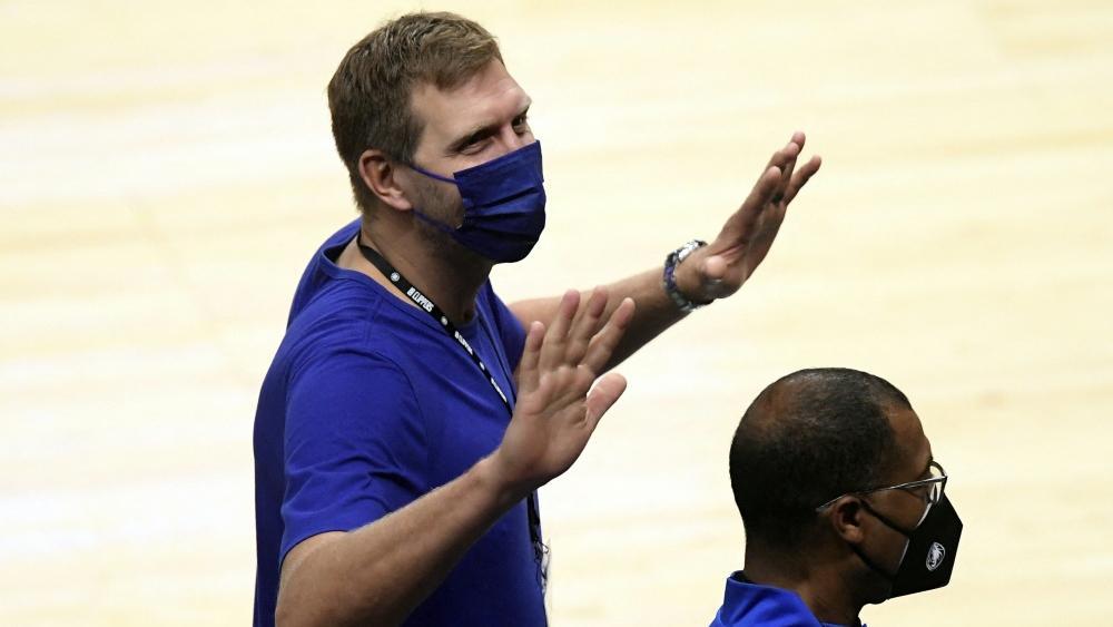 Dirk Nowitzki sah die Pleite seiner Mavs
