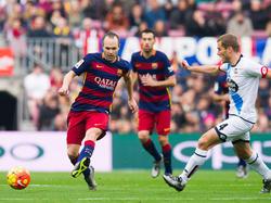 Iniesta schwingt im Barça-Mittelfeld das Zepter