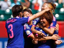 Iwabuchi le dio la victoria a los 87 minutos a la selección japonesa. (Foto: Getty)