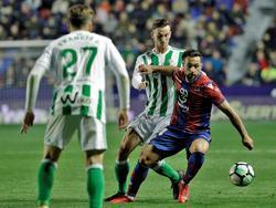 El equipo verdiblanco suma 36 puntos y queda a uno solo de su archirrival Sevilla. (Foto: Imago)
