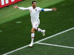 Cristiano Ronaldo avancierte einmal mehr zum umjubelten Spieler