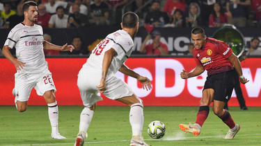 Alexis Sánchez marcó el primer gol del United en Los Ángeles. (Foto: Getty)
