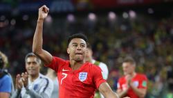 Jesse Lingard steht mit England im WM-Halbfinale