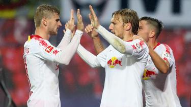 RB Leipzig steht in der Gruppenphase der UEFA Europa League