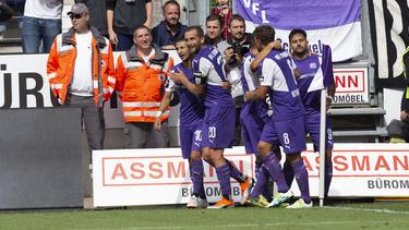 Der VfL Osnabrück gewann das Derby gegen Preußen Münster klar mit 3:0