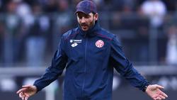 Sandro Schwarz hadert mit dem Pokal-Aus in Augsburg