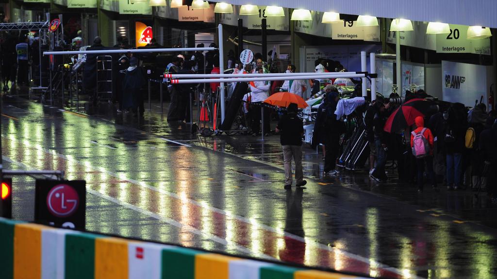 In Sao Paulo müssen möglicherweise die Regenvisiere ausgepackt werden
